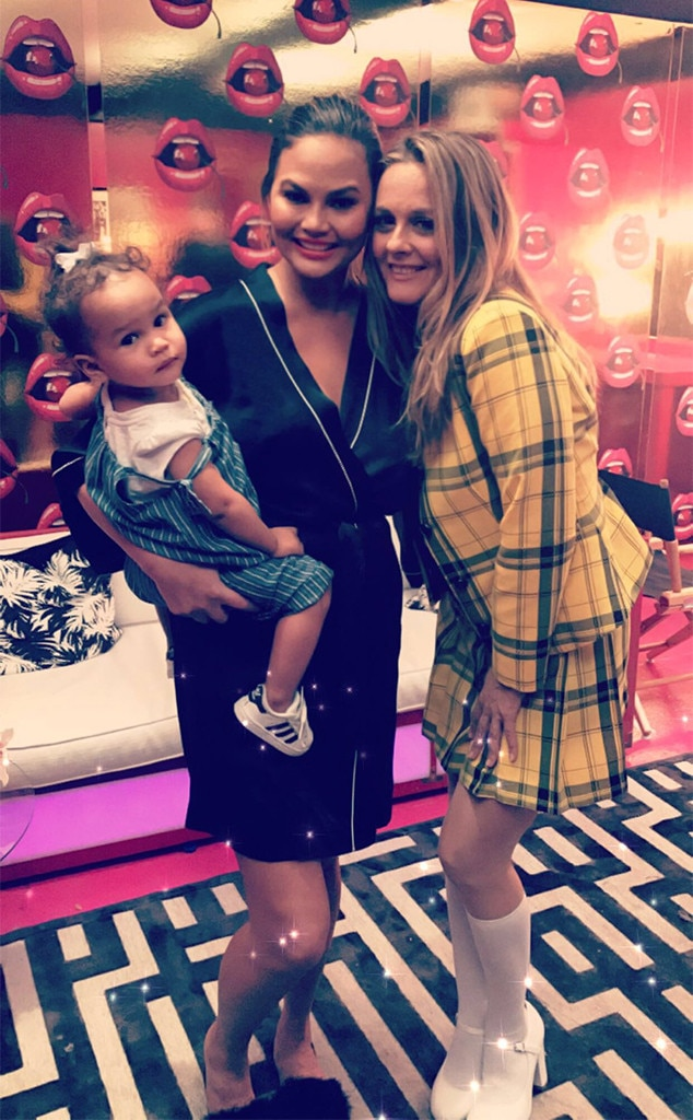 Chrissy Teigen, Luna, Daughter, Alicia Silverstone, Clueless