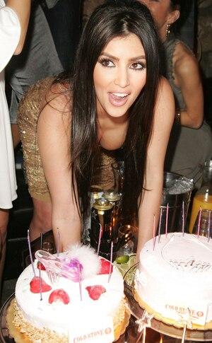 Kim Kardashian, Birthday 2007
