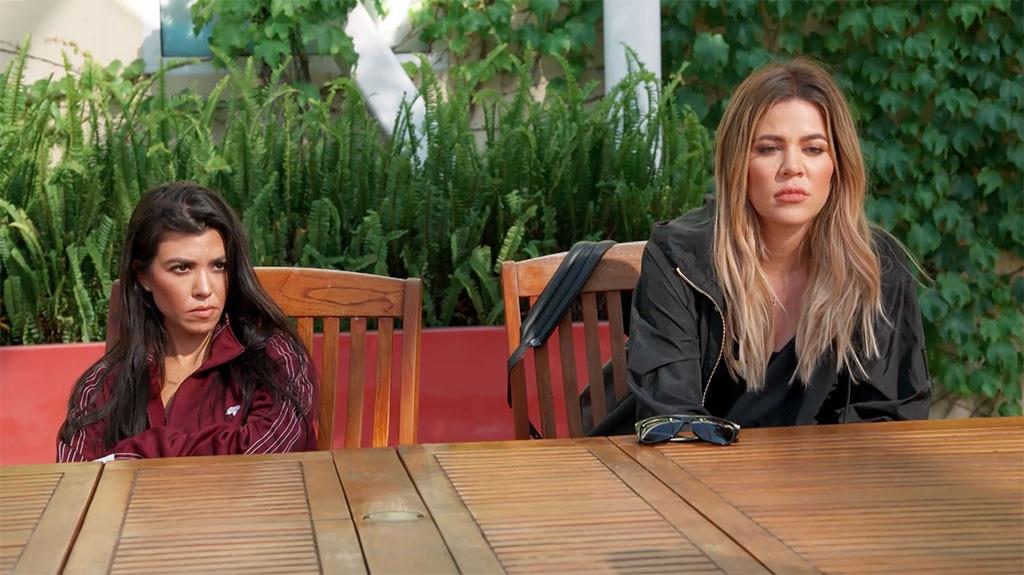 Khloe Kardashian, Kourtney Kardashian, KUWTK 1405