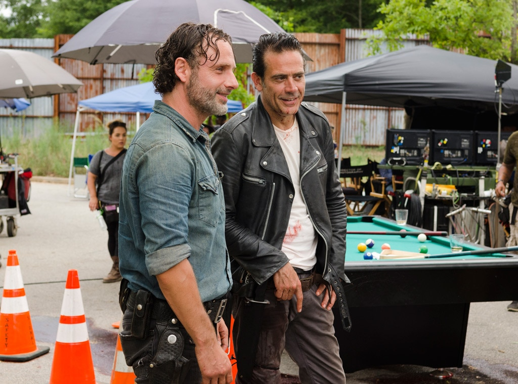 The Walking Dead Season 7, Andrew Lincoln, Jeffrey Dean Morgan