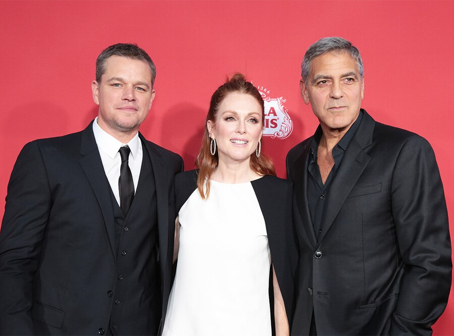 Matt Damon, Julianne Moore, George Clooney