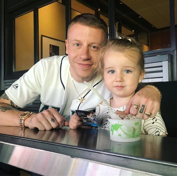 Macklemore, daughter, Instagram