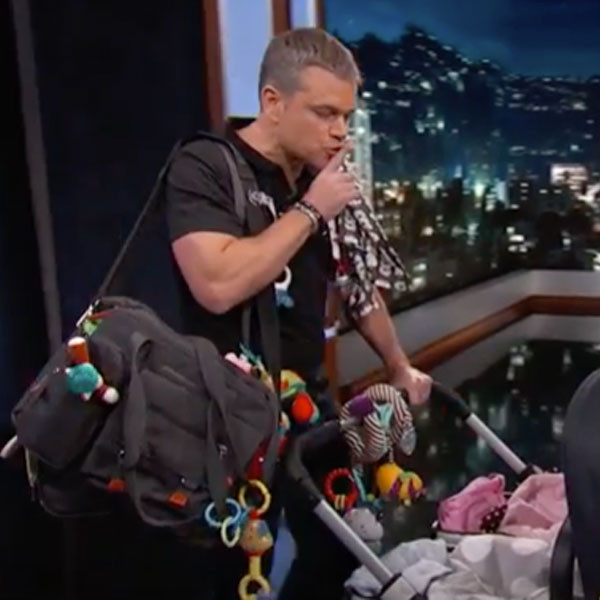 Matt Damon, Jimmy Kimmel Live