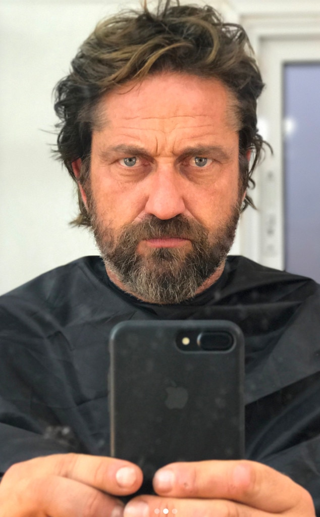 Gerard Butler Looks Like a New Man After Shaving Off His ... Gerard Butler