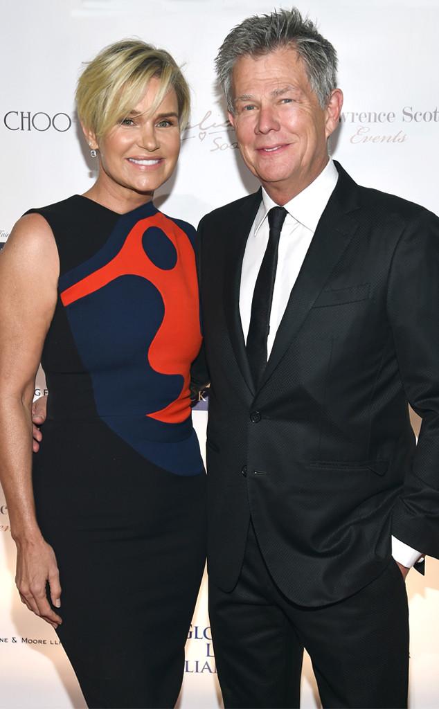 Yolanda Hadid, David Foster