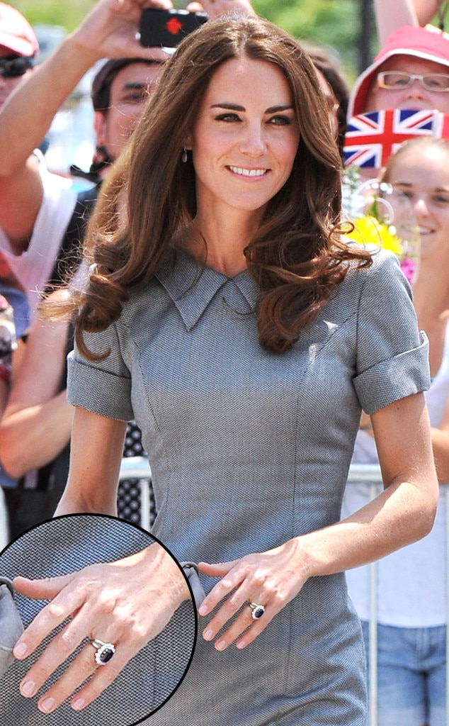 Kate Middleton, Manicure