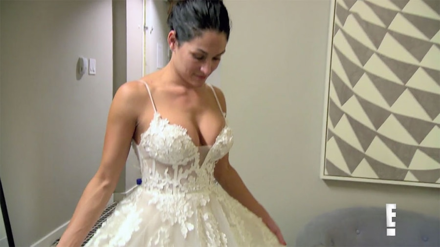Nikki Bella, Total Divas, Wedding Dress