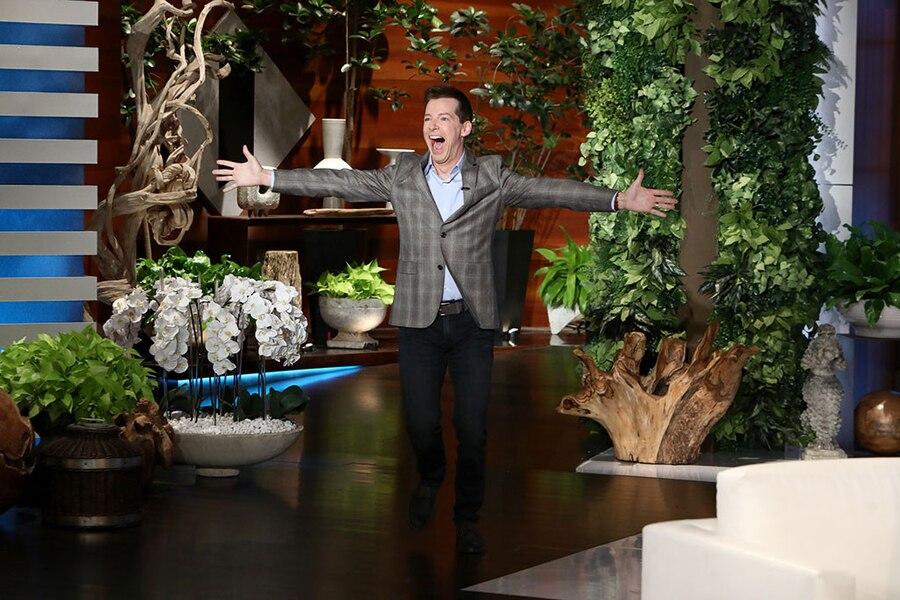 Sean Hayes, Ellen DeGeneres