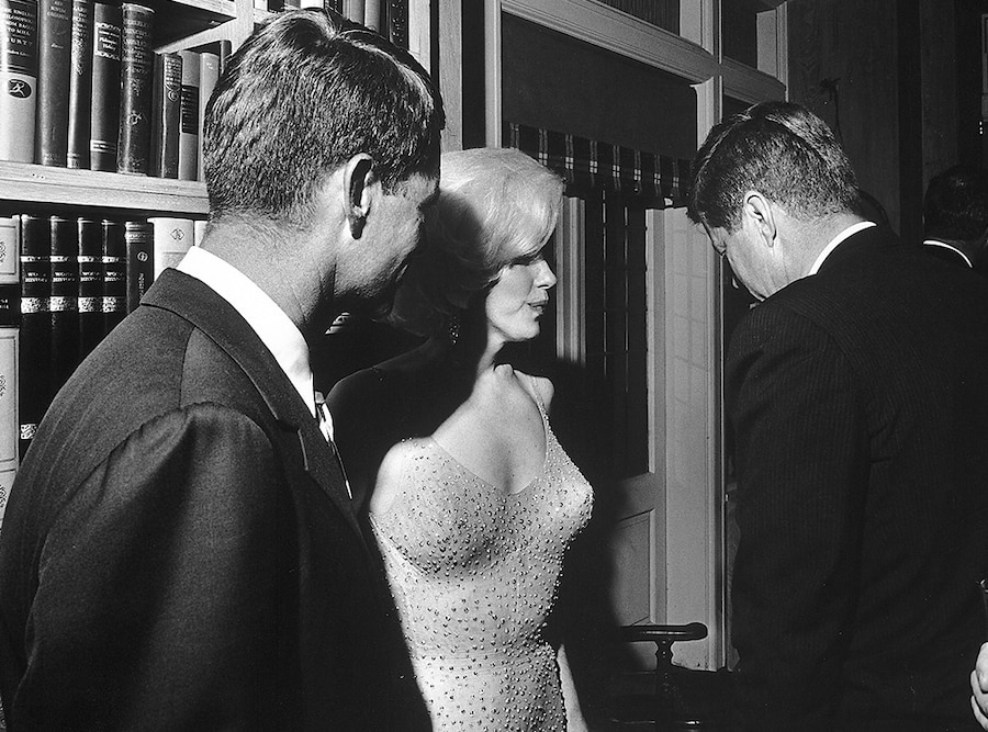 Robert Kennedy, Marilyn Monroe, John F. Kennedy
