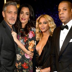 George Clooney, Amal Clooney, Beyonce, Jay Z