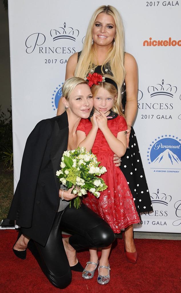 Princess Charlene of Monaco, Jessica Simpson, Maxwell Johnson