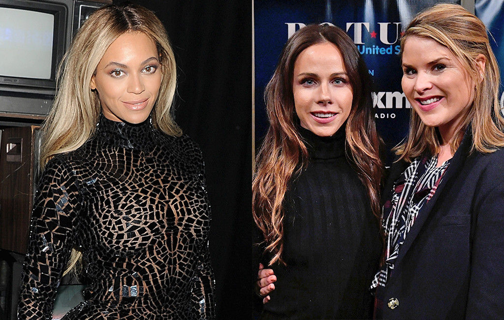 Barbara Bush, Jenna Bush-Hager, Beyonce