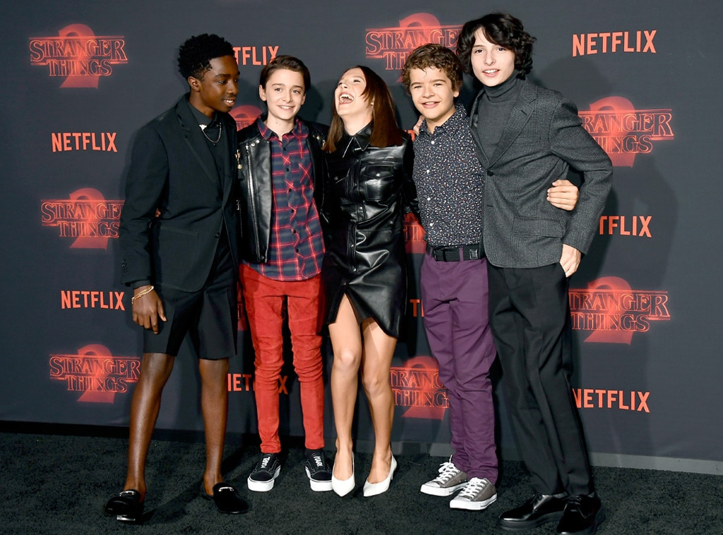 Stranger Things premiere, Millie Bobby Brown, Finn Wolfhard