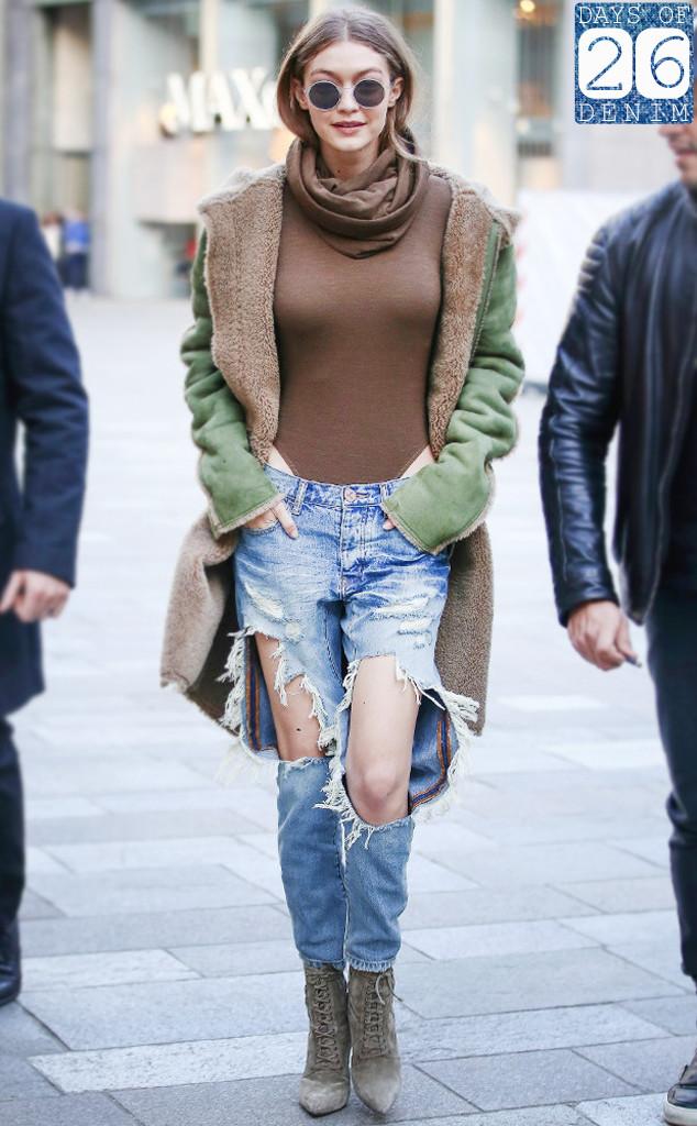 ESC: Gigi Hadid, jeans