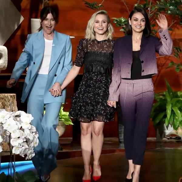 ESC: Mila Kunis, Kristen Bell, Ellen DeGeneres, Kathryn Hahn
