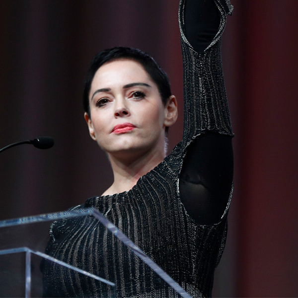 Rose McGowan Makes Passionate Plea for Change During First Public Appearance Since Harvey Weinstein Rape Accusation