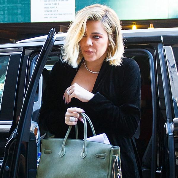 Fur Coats, Blankets and Bags: How Khloe Kardashian Keeps Her Baby Bump Hidden