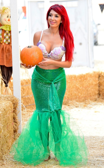 Farrah Abraham, pumpkin patch