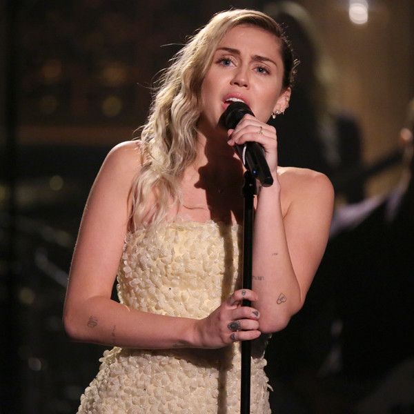 Miley Cyrus, The Tonight Show