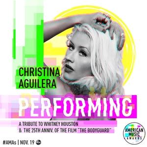 Christina Aguilera, 2017 AMAs