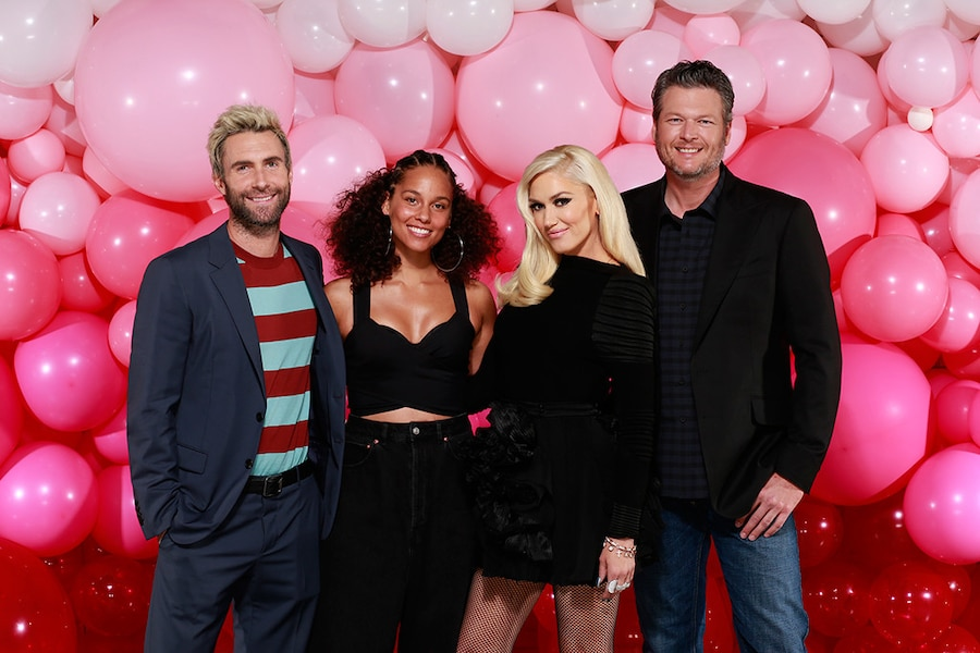 The Voice, Adam Levine, Alicia Keys, Gwen Stefani, Blake Shelton