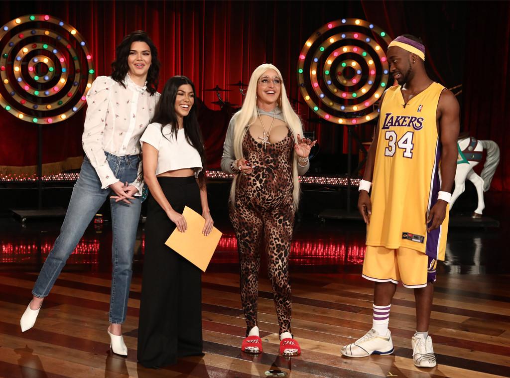 Ellen DeGeners, Kourtney Kardashian, Kendall Jenner, Jay Pharoah