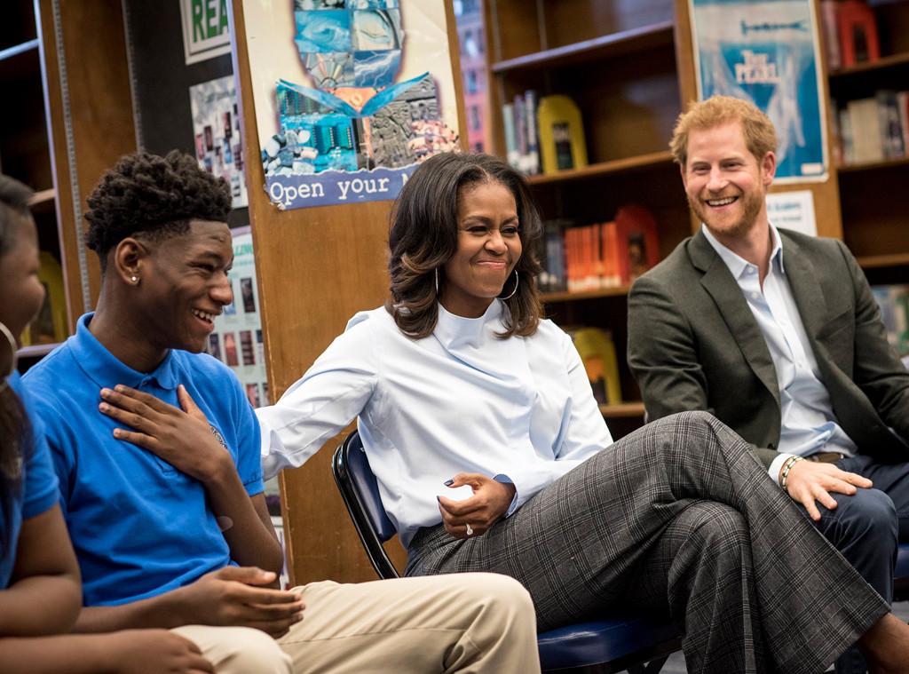 Prince Harry, Michelle Obama