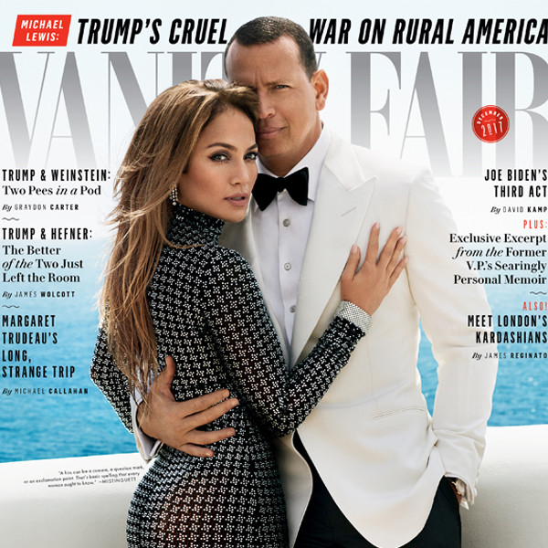 Jennifer Lopez, Alex Rodriguez, Vanity Fair