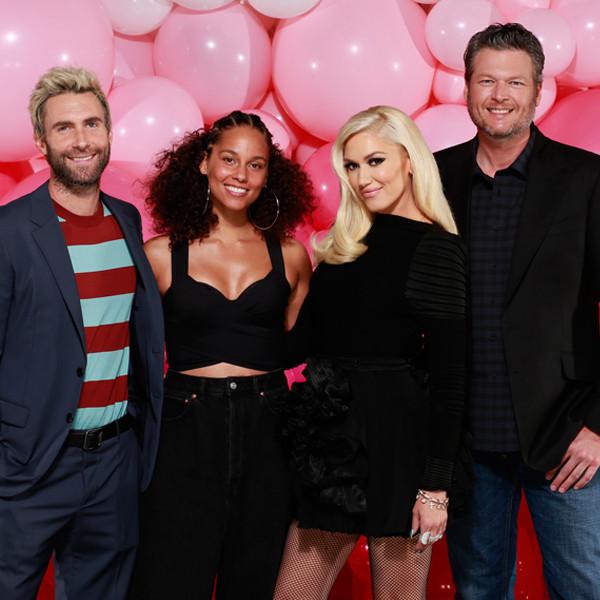 The Voice, Adam Levine, Alicia Keys, Gwen Stefani, Blake Shelton