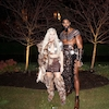 Khloe Kardashian, Tristan Thompson, Halloween 2017
