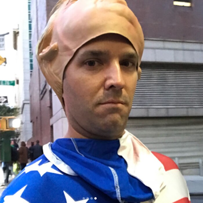 Donald Trump Jr., Halloween 2017