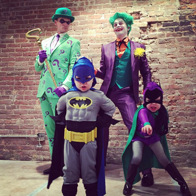 Neil Patrick Harris, David Burtka, Halloween