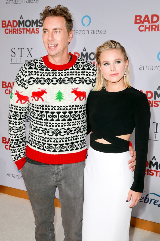 Kristen Bell, Dax Shepard, Stars in Ugly Holiday Sweaters