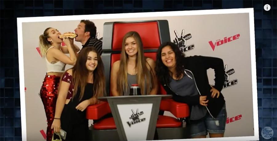 Miley Cyrus, Jimmy Fallon, The Tonight Show
