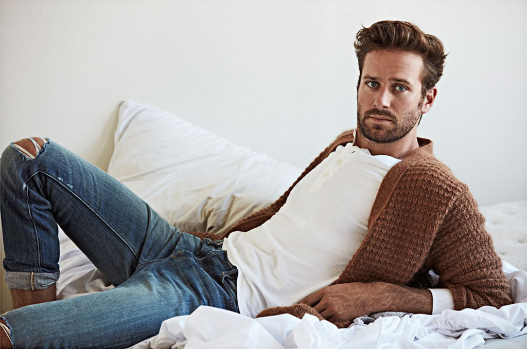 Armie Hammer, OUT