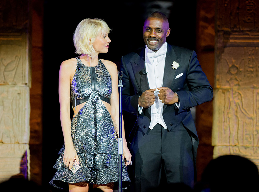 Taylor Swift, Idris Elba, Met Gala 2016