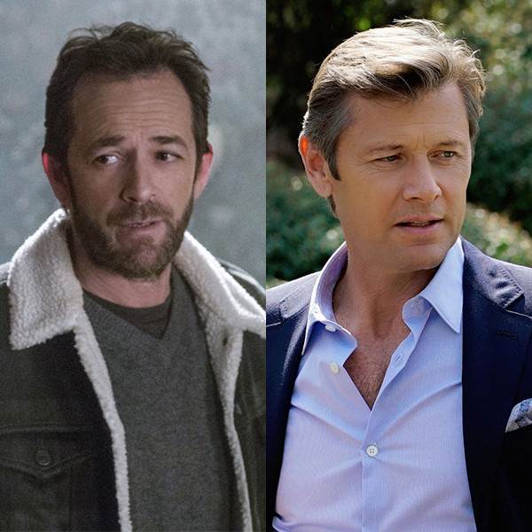 <i>Beverly Hills 90210</i> & <i>Melrose Place</i> Stars Luke Perry and Grant Show Reminisce About High School in Nostalgic CW Promo