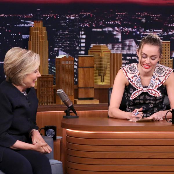 Hillary Clinton, Miley Cyrus