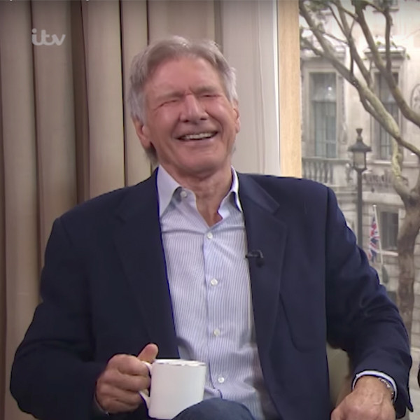 Harrison Ford, Laughing