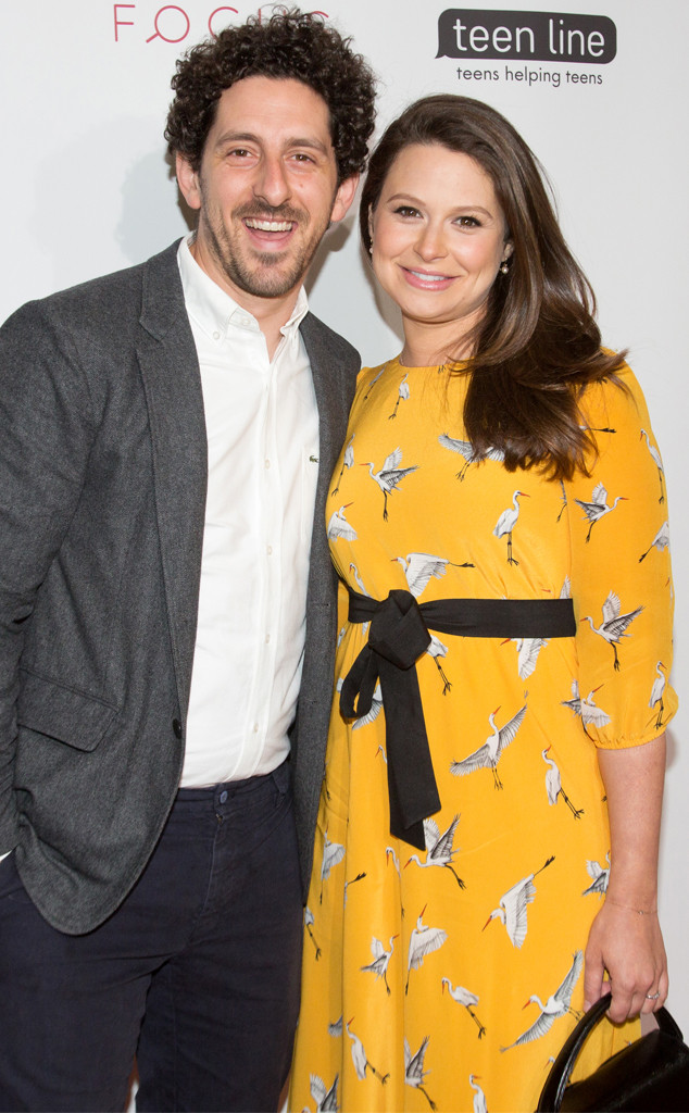 Katie Lowes, Adam Shapiro