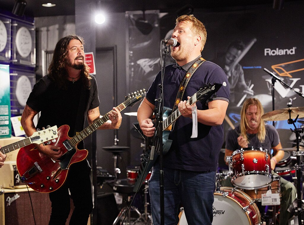 Foo Fighters, James Corden, Carpool Karaoke