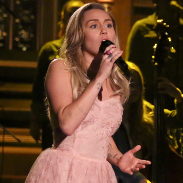Miley Cyrus, Billy Ray Cyrus, The Tonight Show