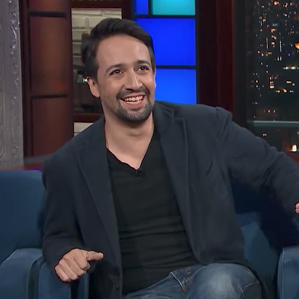 Lin-Manuel Miranda, The Late Show, Stephen Colbert