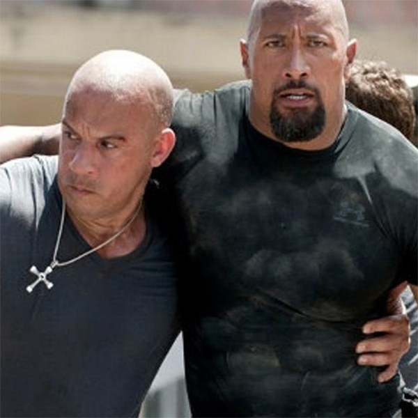 Tyrese and the Rock at odds over 'Fast and Furious' spinoff