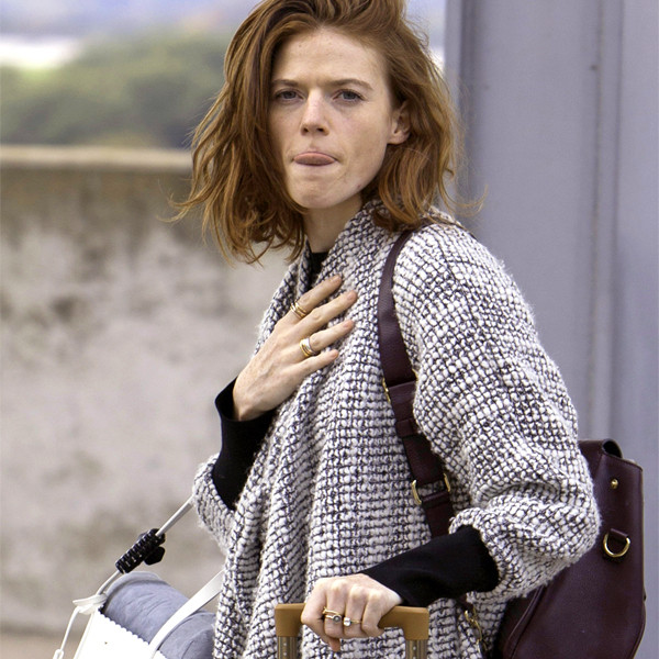 Rose Leslie, engagement ring, London