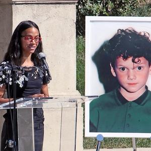 Anton Yelchin, Zoe Saldana, Hollywood Forever Cemetery