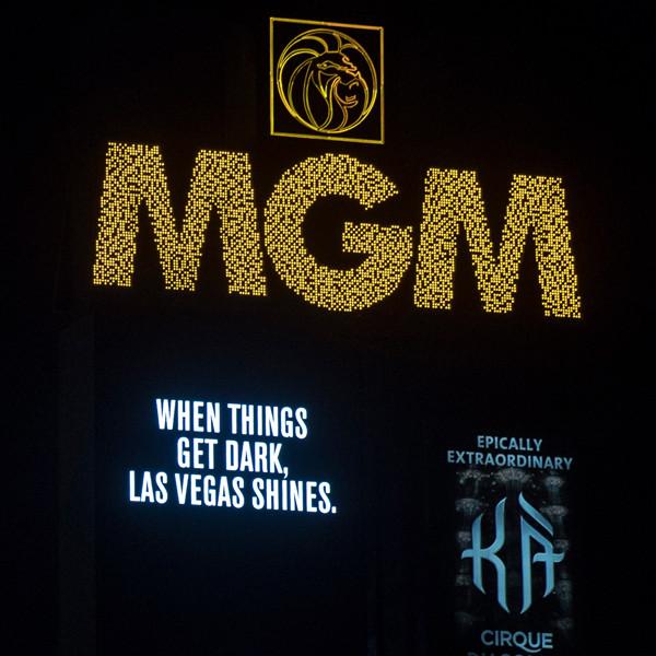 Las Vegas Strip Goes Dark Tribute
