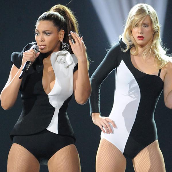 Beyonce Knowles, Heather Morris, Celeb Backup Dancers