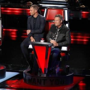 The Voice Season 13, Adam Levine, Blake Shelton
