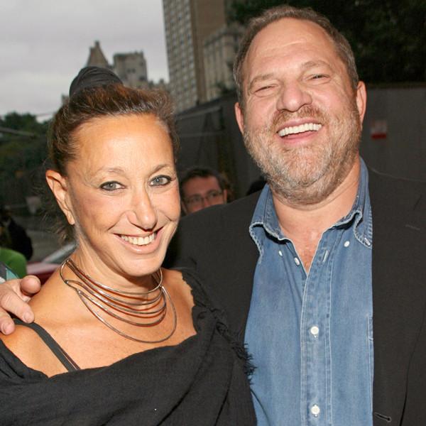 Donna Karan, Harvey Weinstein, 2007